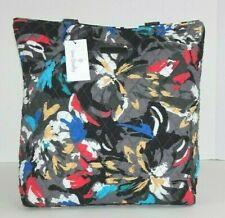 Vera Bradley TOTE Splash Floral Shoulder Bag NWT Quilted Cotton Retired
