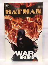 Batman War Drums Paperback Graphic Novel DC Comics 1401203418