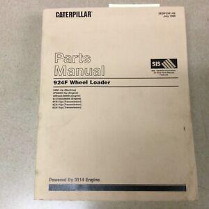 CAT Caterpillar 924F PARTS MANUAL BOOK CATALOG LIST WHEEL LOADER GUIDE sn 5NN
