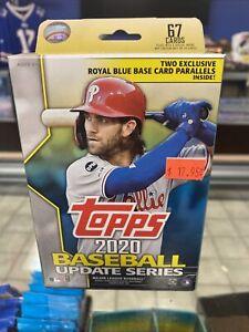 2020 Topps Update Baseball 67 Card Hanger Box 4 Box Lot Rc Auto? Qty