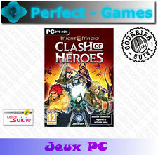 MIGHT and MAGIC Clash of Heroes Games jeux PC DVD ROM neuf new sous blister
