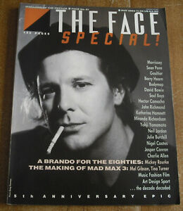 THE FACE magazine MAY 1985 - No 61 - MICKEY ROURKE - MORRISSEY - SEAN PENN
