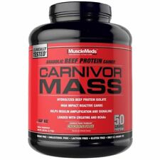 MuscleMeds Carnivor Mass Anabolic Beef Protein Gainer Chocolate Fudge
