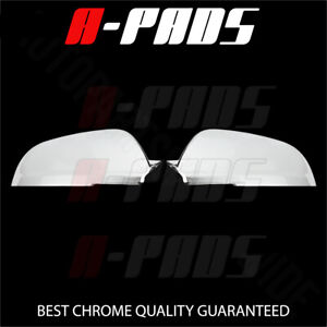 For Chevy Malibu 2008 2009 2010 2011 2012 Top Half Side Mirror Chrome Covers
