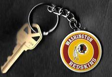 Washington Redskins Round Keychain NFL Key Chain