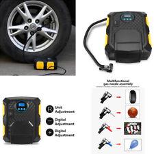 12V Portable LCD 150PSI Air Compressor Auto Car Bike Electric Tire Inflator Pump