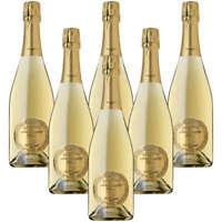 Spumante Brut Manzoni Bianco Castello di Poppiano 6 bottiglie 75 cl.