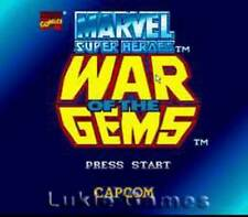 Marvel Super Heroes War Of The Gems - SNES Game