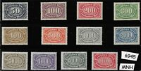#6945    MNH Stamp set / Large Numeral / Germany  / 1922 - 1923   Sc198 - Sc209