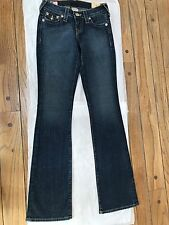 NEW $178 True Religion Becky Core Bootcut Women's Jeans Saphire Blu Size 24