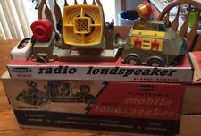 Vintage 1955 Remco Mobile Radio Loudspeaker Futuristic Truck System w/Box Works