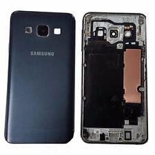 Cubierta Trasera Original Genuino Placa de Metal para Samsung A3 SM-A300FU - Azul