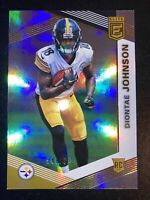 2019 Panini Donruss Elite Rookies #548/699 Diontae Johnson #142 Rookie Steelers!