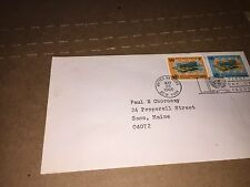 MAY 26 1966 FDC UNITED NATIONS WORLD HEALTH HEADQUARTERS GENEVA 5c (Two Stamps)
