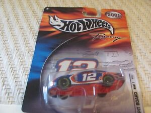 "Jeremy Mayfield  - 2001 #12 ""Mobil"" - 1:64 Hot Wheels Racing"