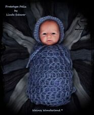 New Reborn Baby Doll Kit FELIX By Linde Scherer@New Release Full Body Vinyl Kit