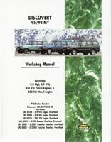 Land Rover Discovery 1995-1998 95/98 My Full Workshop Repair Manual Service Book