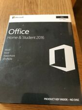 MICROSOFT Office Home and Student 2016 per MAC 1 user-Word EXCEL POWERPOINT