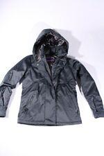 Roxy Chaqueta de Invierno Esquí Tech 10000 Mujer Gris Abrigo Nuevo XCWSJ147