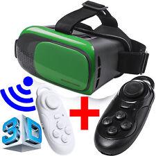 OCCHIALI VR per 3D Realta' Virtuale VISORE + GAMEPAD Telecomandino TELEVISORE