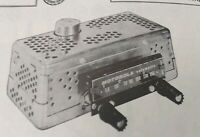Vintage Sams Photofact Folder Radio Parts Manual CAR RADIO MOTOROLA 6M 1956
