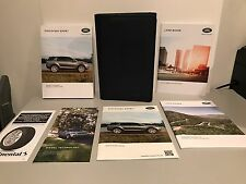 2017 LAND ROVER DISCOVERY SPORT OWNERS MANUAL NAVIGATION/REAR MEDIA INFO NEW!