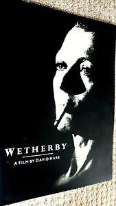 WETHERBY (1985) CINEMA FILM MOVIE SOUVENIR BROCHURE PROGRAM (DAVID HARE)
