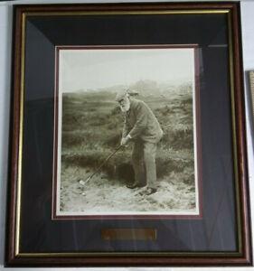 Old Tom Morris Open Champion 1861, '62, '64, '67 Framed Print