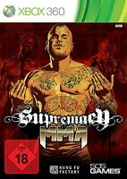 Xbox 360 Spiel Supremacy MMA Mixed Martial Arts NEUWARE