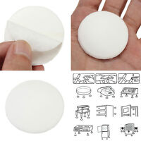 2x Round Wall Protector Self Adhesive Door Handle Bumper Guard Stopper Rubber Pg