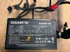Gigabyte SuperB SERIES 720W Power Supply Fully tested W/ 2X 8 PIN PCI-E PLUGS