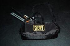 Custom The Walking Dead Rick Grimes 1:6 scale Sheriff Dept Duffle Bag Patch RARE
