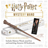 "HARRY POTTER 12"" MYSTERY WAND Assortment cosplay fancy dress 9 To Collect Magic"