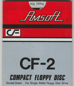 New AMSOFT 3 Inch CF2 Disc For The AMSTRAD PCW Computers