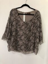 Piazza Roma Made In Italy Women's Blouse Sz S Silk