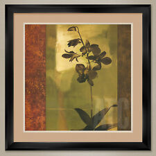 """35W""""x35H"""": MESMERIZED II by CHRIS DONOVAN - DOUBLE MATTE, GLASS and FRAME"""
