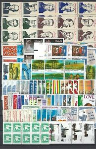 US Postage 150 x 22 Cent -WITH GUM- FV 33 $