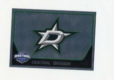 17/18 PANINI NHL STICKER TEAM LOGO #304 DALLAS STARS *40635
