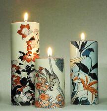 "MUSEUMS TEELICHTHALTER - ""Katsuhika Hokusai"" - 3er - SET Teelichthalter - NEU !!"