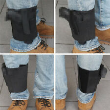Ankle Leg Gun Holster Strap Concealed Carry Right/Left Elastic Secure Strap LD