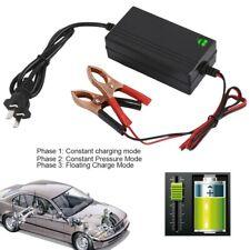 Caricabatterie Mantenitore Batteria 12V 1,2 A Cavetti Per Auto e Moto batteria