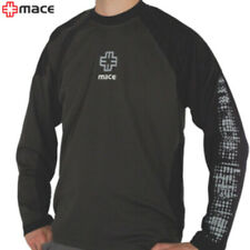 MACE Powder Jersey Long Sleeve (Medium) MTB/Casual Tee - Smoke/Navy