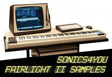 Fairlight CMI II WAV Samples ♪ 2 Sample Libraries! ♪ 80s Retro Sounds ♪ DOWNLOAD