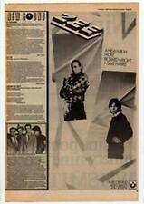 Richard Wright Dave Harris Pink Floyd Zee Advert NME Cutting 1984