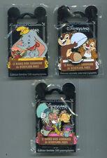 Pin Disneyland Paris DLP set rendez vous gourmand Dumbo,Tic & Tac,Chapelier fou