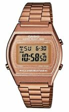 CASIO Digital Reloj Retro Vintage B640WC-5AEF Clásico Rose Bronce