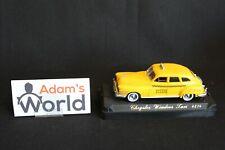 Solido Chrysler Windsor 1:43 Taxi, yellow (JMR)