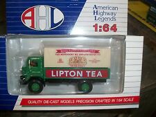 AHL 1/64 GMC T-70 Tractror Lipton Tea Diecast Delivery Truck