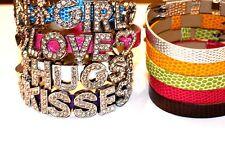 1pc Bracelet Wristband  blue, white, pink,