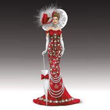 Lady Canada - Crystal Elegance of Canada Figurine -  Bradford Exchange